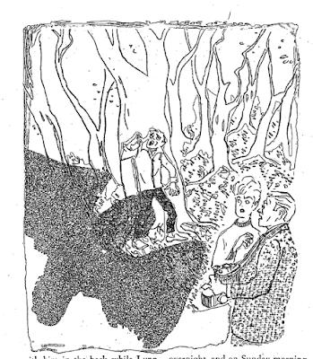 AHMM - Mothman Illustration