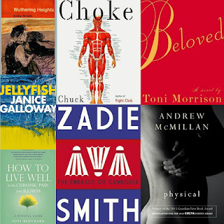 reviews andrew mcmillan physical toni morrison beloved zadie smith the embassy of cambodia choke chuck palahnuik wuthering heights emily bronte jellyfish janice galloway how to live well with chronic pain and illness toni bernhard