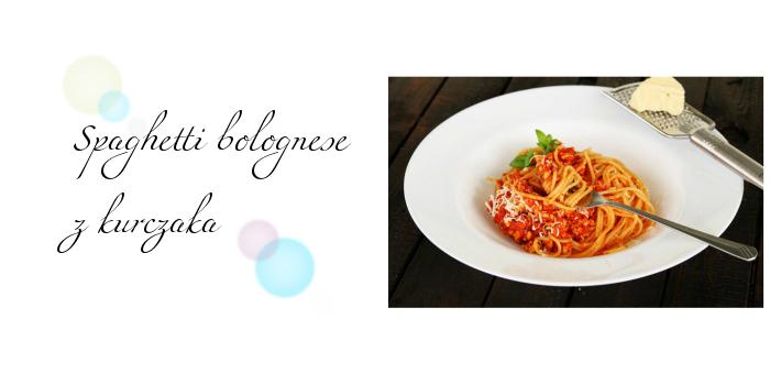 Spaghetti bolognese z kurczaka