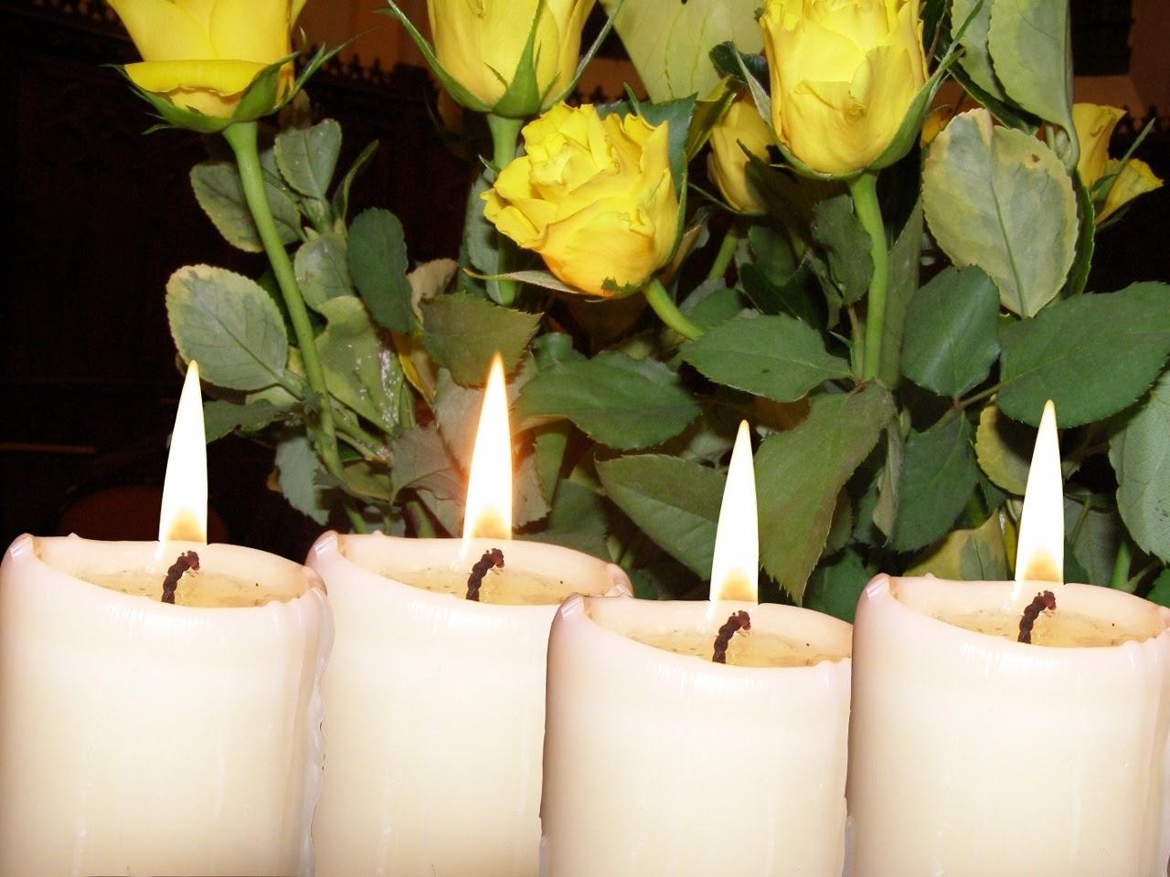 Les quatre bougies de l'Avent