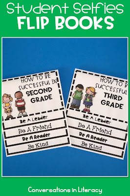 Back to School Writing Activities How to Succeed in Second Grade Flip Book