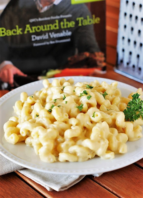 "5-Cheese Stovetop Macaroni and Cheese Image {from ""In the Kitchen with David®""}"