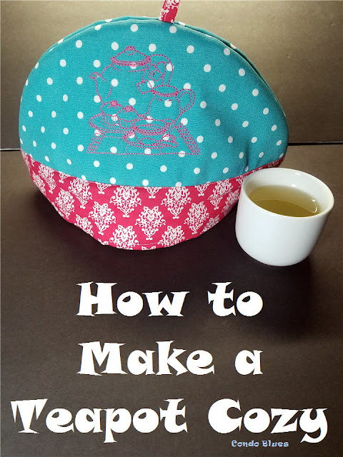 how to make a quick and easy teapot cozy