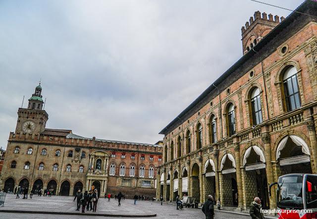 Piazza Maggiore de Bolonha