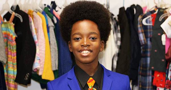 Obocho Peters, 11-year entrepreneur who owns a thrift store