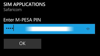 M-PESA Pin
