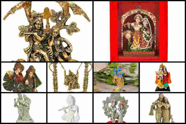 Radha Krishna Statue Murti For Gift,  Home & Temple