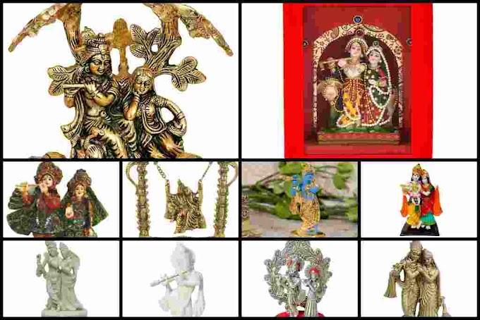 Radha Krishna Statue Murti For Gift, Get 50% - 90% OFF