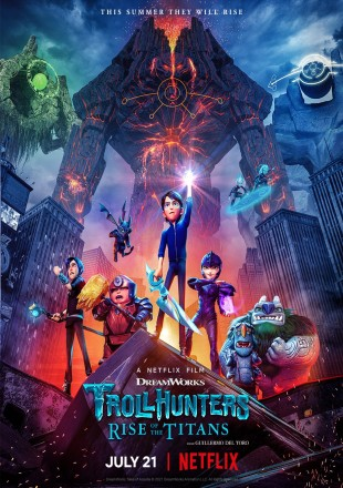 Trollhunters: Rise of the Titans 2021 HDRip 720p Dual Audio