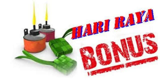 Bonus Raya 2018 : Penjawat Awam RM400, Pesara Kerajaan RM200