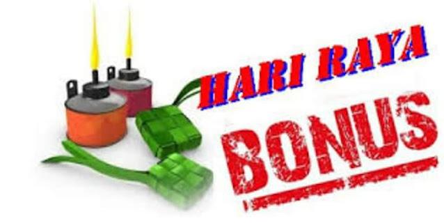 Bonus Raya 2021 : Penjawat Awam RM500, Pesara Kerajaan RM250