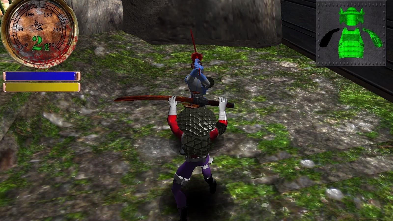 تحميل لعبة الساموراي