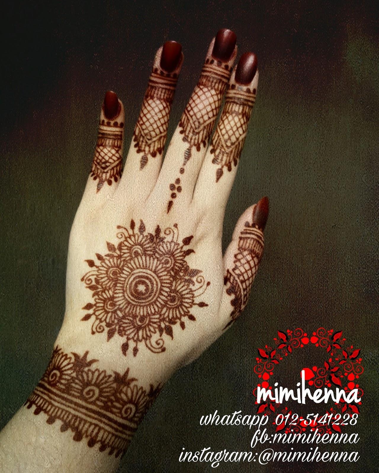Mimi Henna Studio Diskaun Henna Pengantin 20 Sehingga November 2016