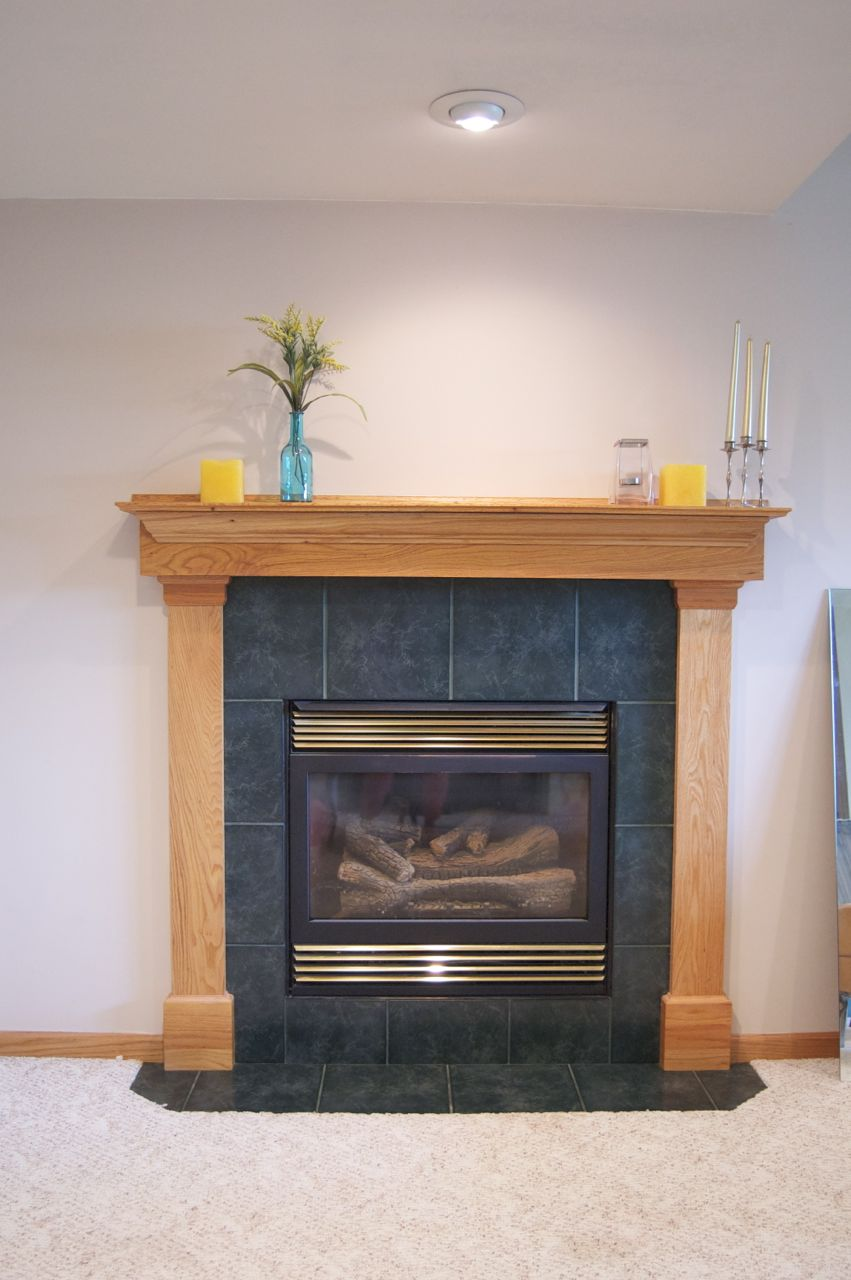 Before And After Fireplace Makeover Matsutake