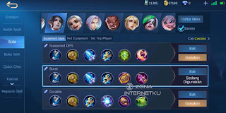 The painful Cecilion build and emblem in Mobile Legends