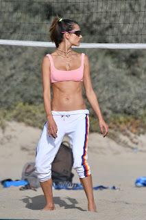 alessandra ambrosio plays beach volleyball 10 24 2020 11