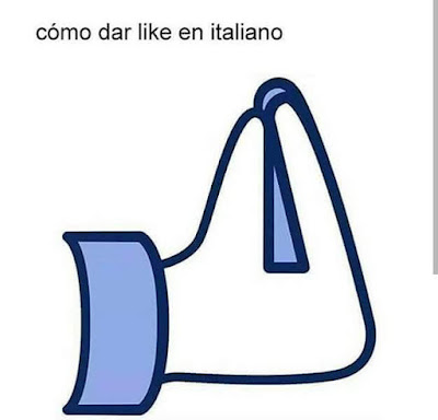 cómo dar like en italiano, me gusta, facebook