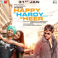 Happy Hardy And Heer First Look Poster 2