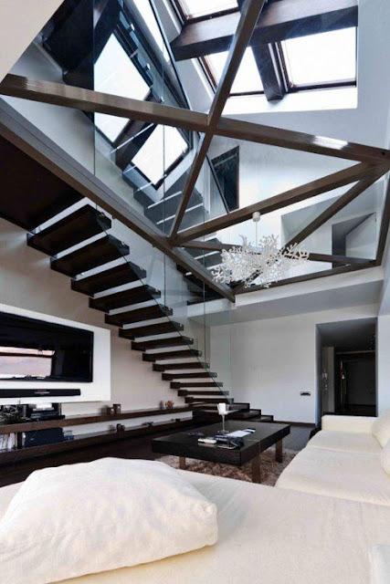 modern elegant staircase design