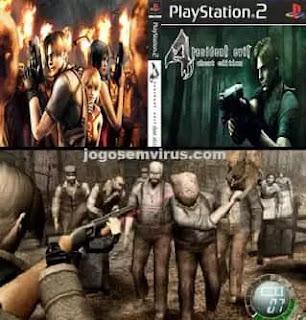 Imagem Resident Evil 4 PS2 Português PT-BR