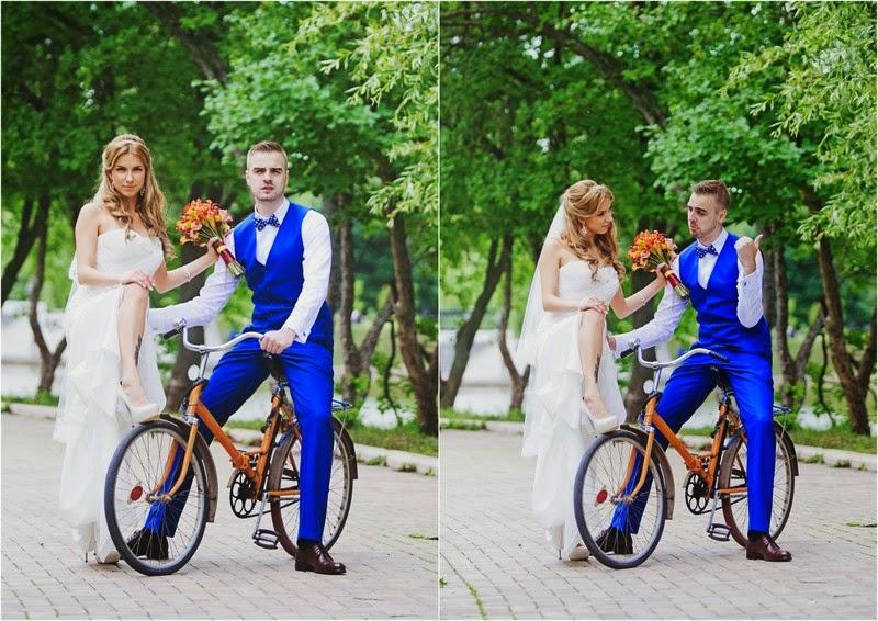 яркая свадьба оформление