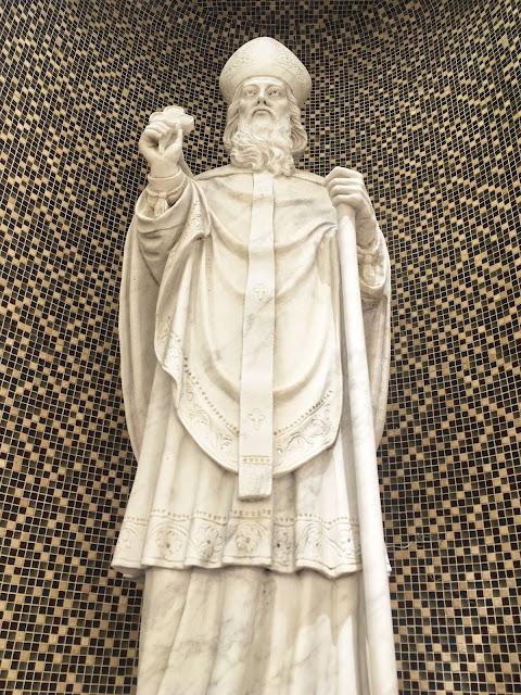 statue of Saint Patrick, Fort Worth, TX