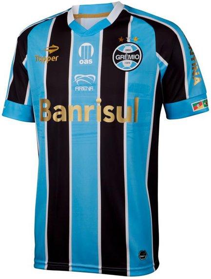 54e95b08c31bd Grêmio usará camisa especial para inauguração da Arena - Show de Camisas