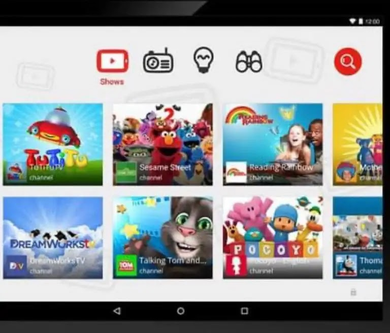 """""""YouTube Kids"""" application: """"YouTube"""" launches this application for children in the Arabic language"""