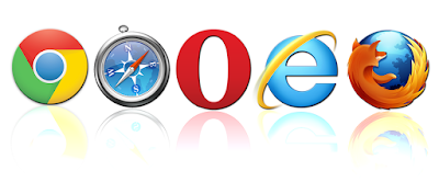navegadores iconos chrome safari opera internet explorer firefox