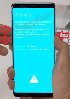 Flash Samsung Galaxy Note 8 SM-N950F