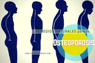 Lista de Remedios caseros para la Osteoporosis