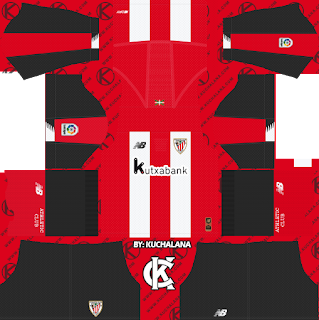 Athletic Bilbao 2019/2020 Kit - Dream League Soccer Kits
