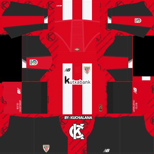 Athletic Bilbao 2019/2020 Kit - Dream League Soccer Kits