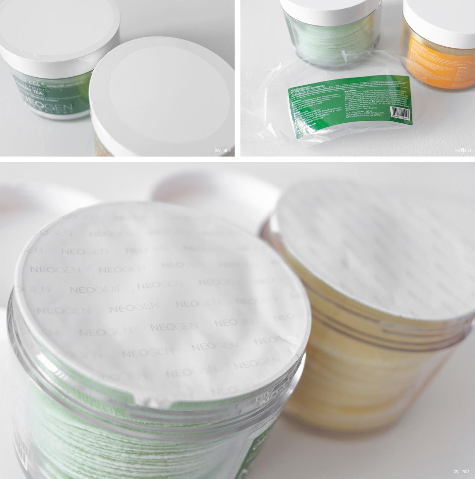 lavlilacs NEOGEN DERMALOGY Bio-Peel Gauze Peeling - Green Tea & Lemon security seals