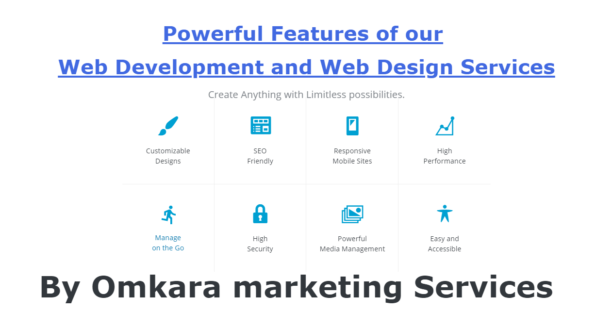 Web Development and Web Design Services for Mobile Friendly and Mobile First Websites-By Omkara Marketing Services