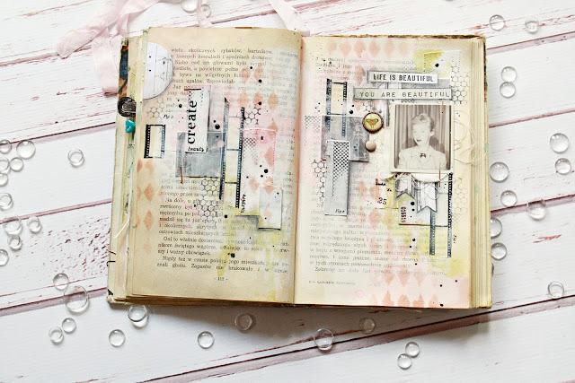 Beauty – art journal spread