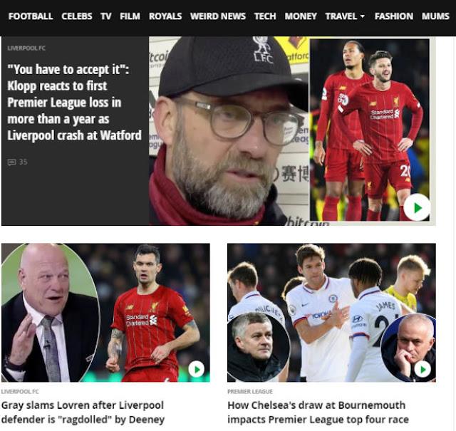 """Liverpool vỡ mộng bất bại: Báo Anh mỉa mai, chê Salah - Mane """"vô hại"""" 2"""