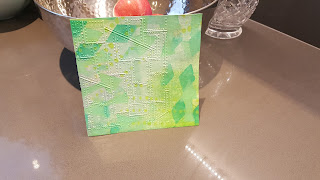 Grá O'Neill - Paper Learning Curve - Lawn Fawn Beep Boop Birthday, Tim Holltz Riveted Metal, Handwritten  Celebrate, THMS070; Dylusions Large Arrow Border; Finnabair Harlequin, Stars, Dots&Stripes; Ranger Crackle Medium
