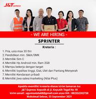 Loker Surabaya di J&T Express Keputih September 2021