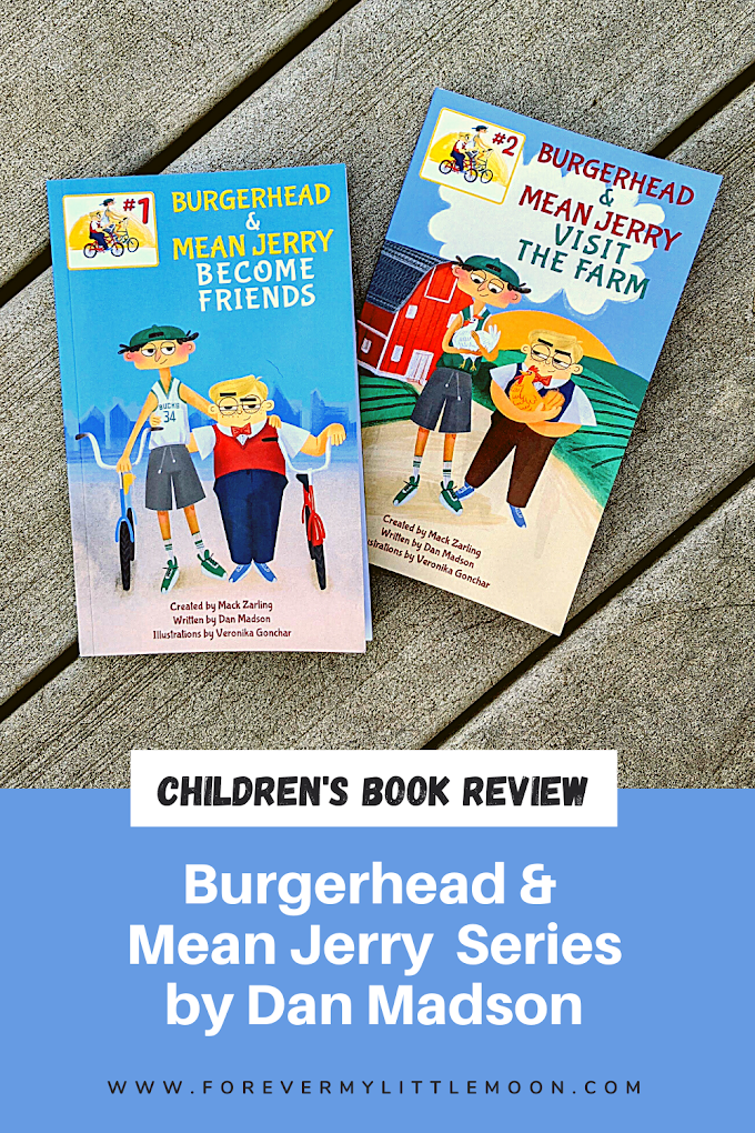 Burgerhead & Mean Jerry Book Series Review