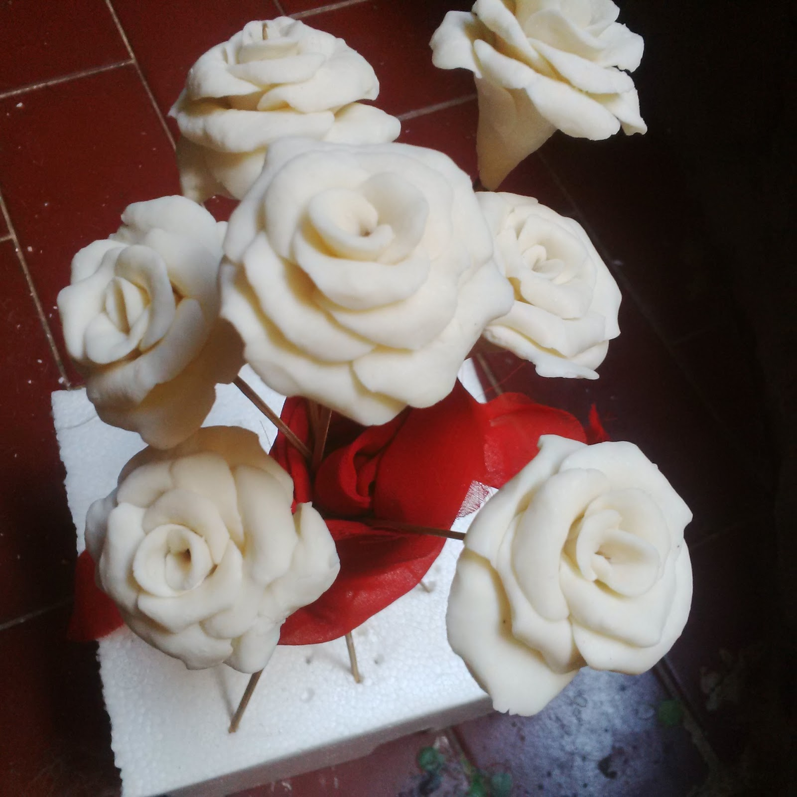 My Life White Rose From Soap