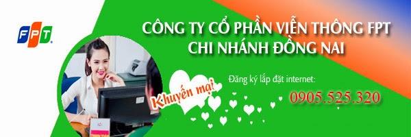 lắp Mạng Internet FPT Phường Long Bình Tân