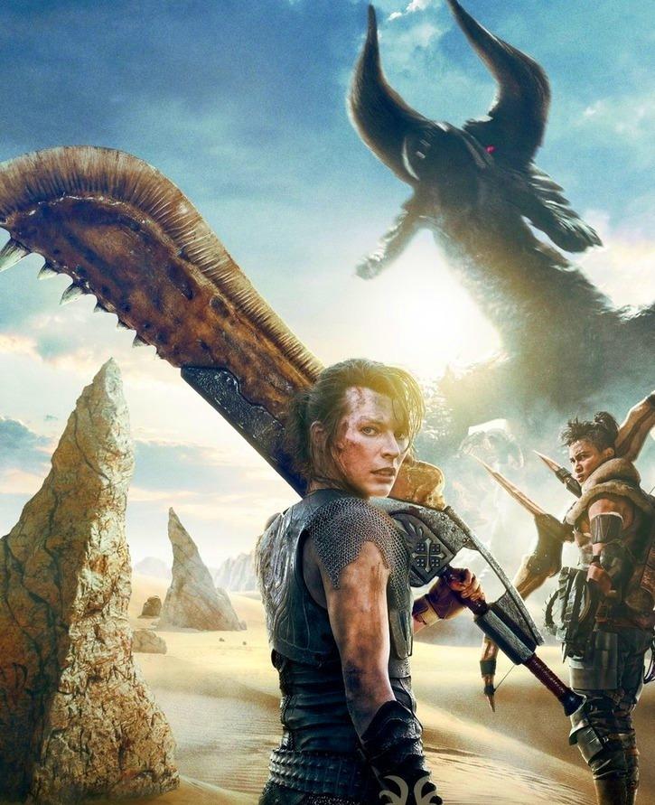 "SNEAK PEEK: Milla Jovovich : ""Monster Hunter"""
