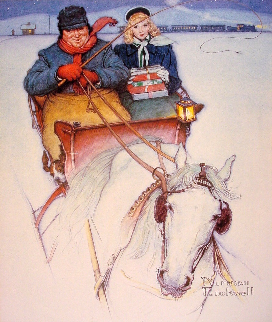 Christmas Homecoming Rockwell.El Museo De Hipatia Norman Rockwell Christmas Homecoming