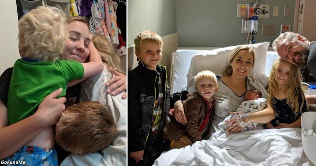 Умирающая мать 4 детей пожертвовала 12 органов на донорство