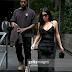 ".@KimKardashian in .@aliceandolivia - ""Women's Black Velvet Maxi Dress"""