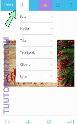 Desain kartu natal online
