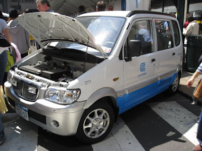 Электрические машины класса NEV   Экологические автомобили