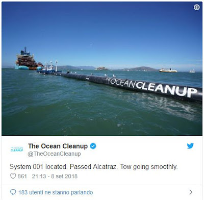 Informazioni su The Ocean Cleanup  Ocean Cleanup sviluppa tecnologie avanzate   per liberare la plastica dagli oceani del mondo...