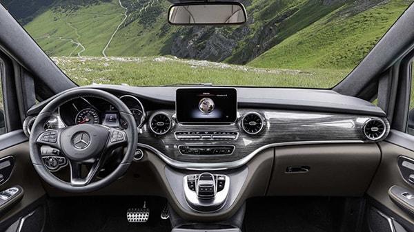 2019 Mercedes V-Serisi İç Mekan - 1